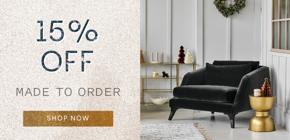 15% off Made to Order