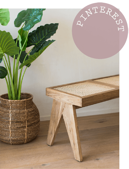 Pin: Be inspired by our Cane, Rattan & Bamboo Pinterest board