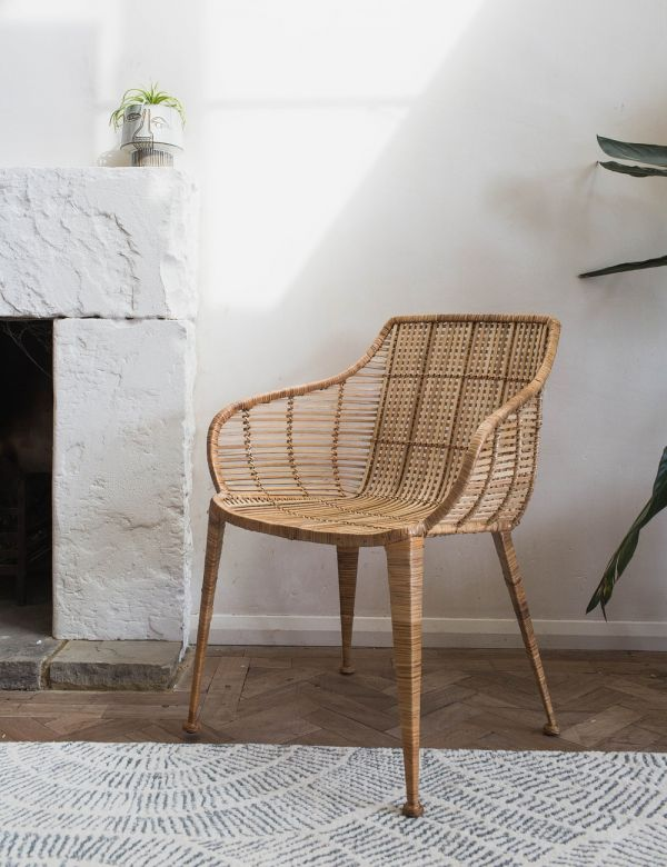 Amira Natural Rattan Occasional Chair
