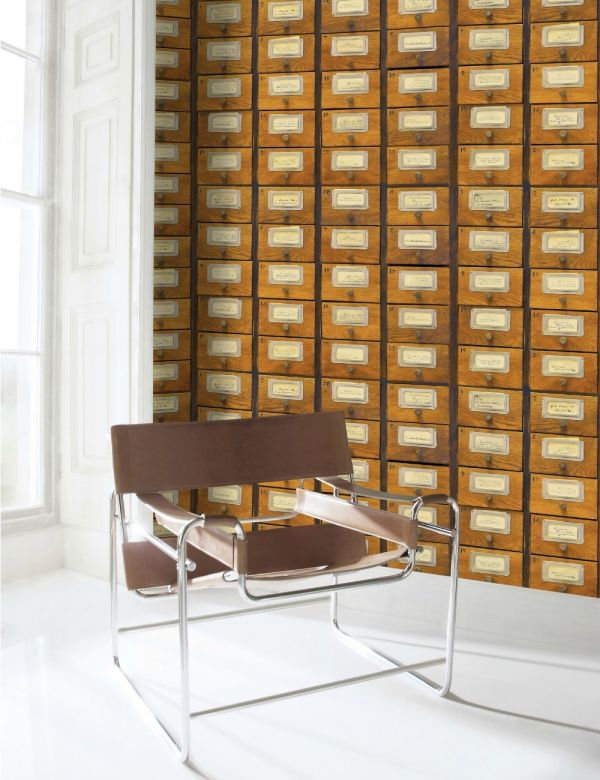 Mind The Gap Wallpaper Collection - Apothecary