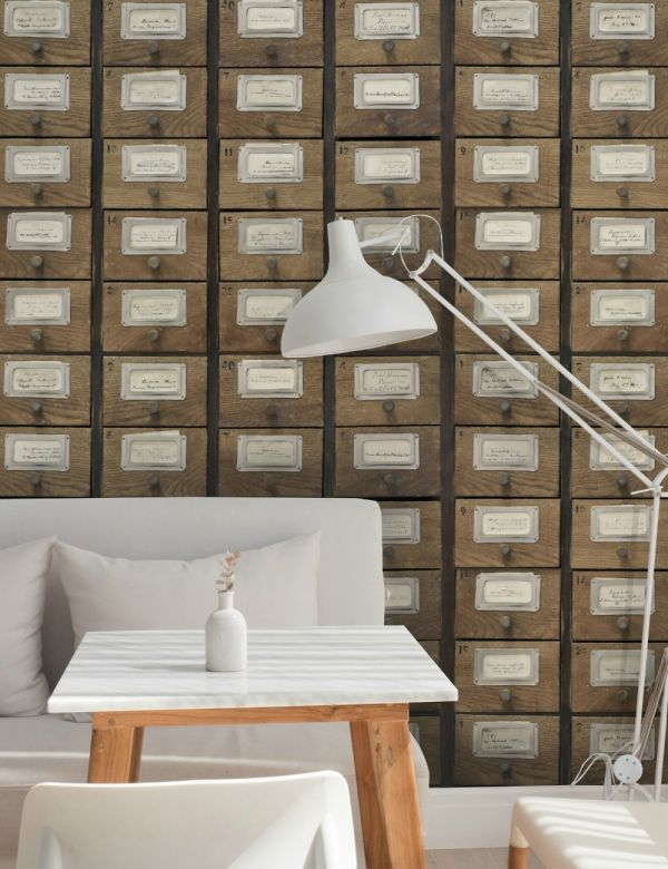 Mind The Gap Wallpaper Collection - Apothecary Neutral