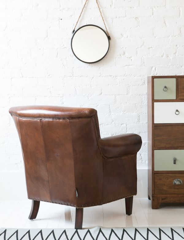 Vintage Leather Classic Armchair