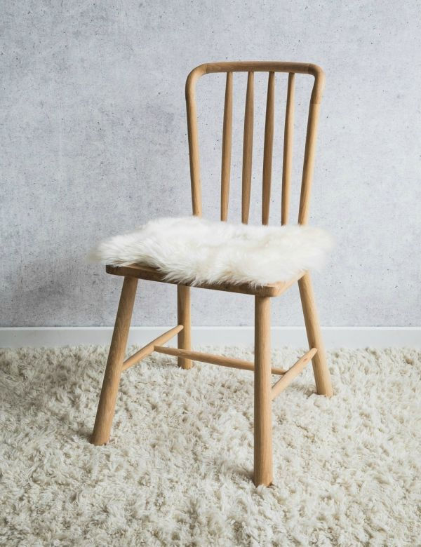 Australian Longhaired Sheepskin Chair Cushion