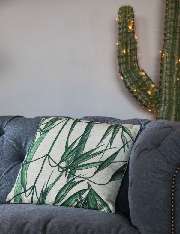 Bamboo Print Cushion