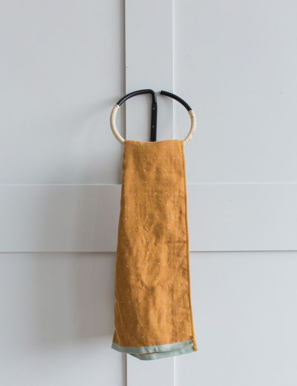 Bamboo Towel Holder