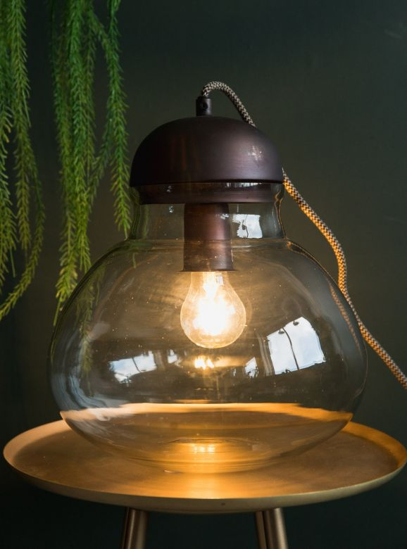 Big Bulb Table Lamp