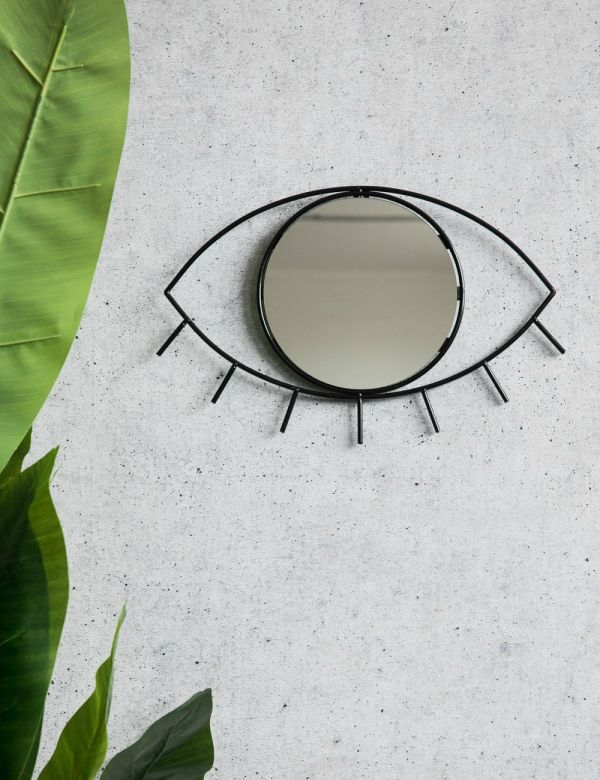 Small Black Cyclops Mirror
