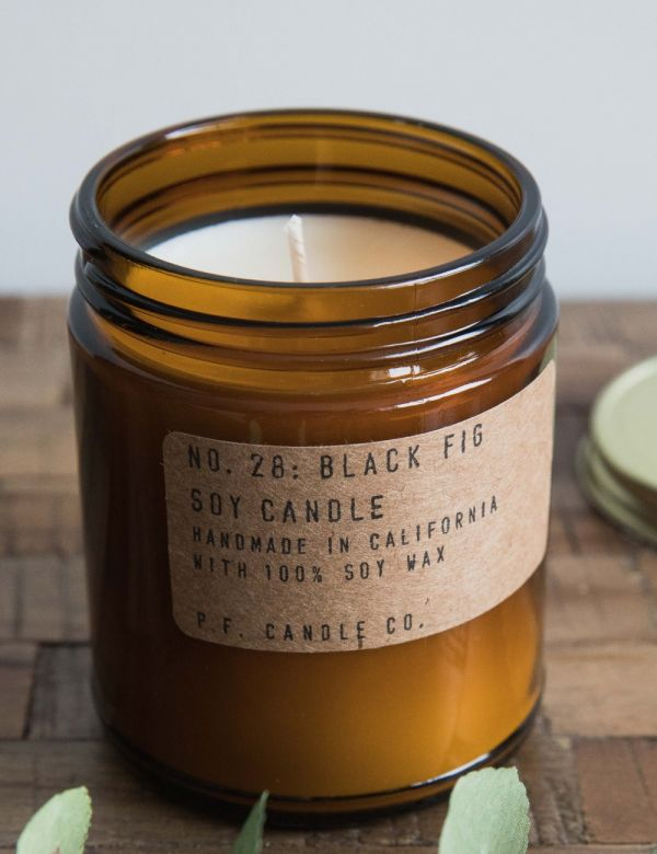 P.F Candle Co. No.26 Black Fig Soy Candle