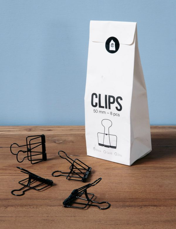 Black Wire Clips