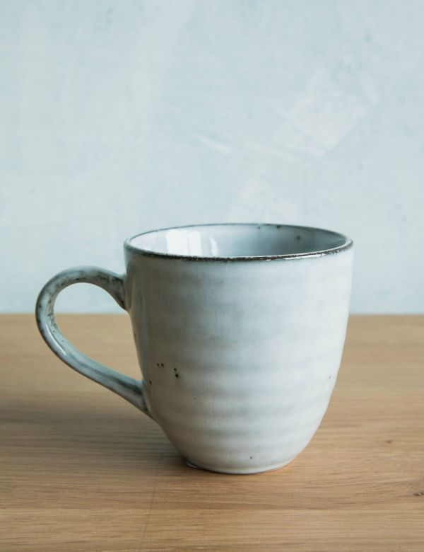 Blue Dappled Mug