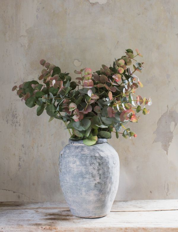 Faux Natural Blush Eucalyptus