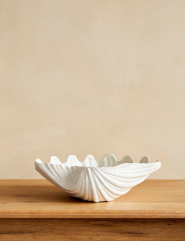 Ceramic Shell Bowl