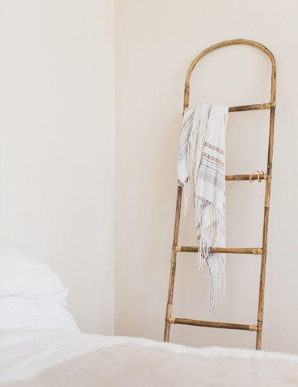 Curved Bamboo Ladder