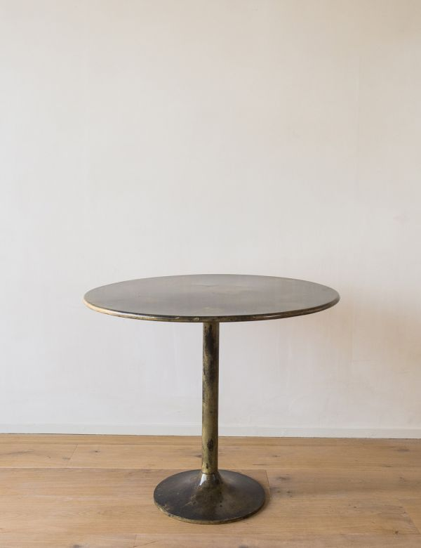 Desert Brass Round Dining Table