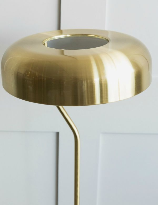 Eclipse Brass Floor Lamp by Dutchbone