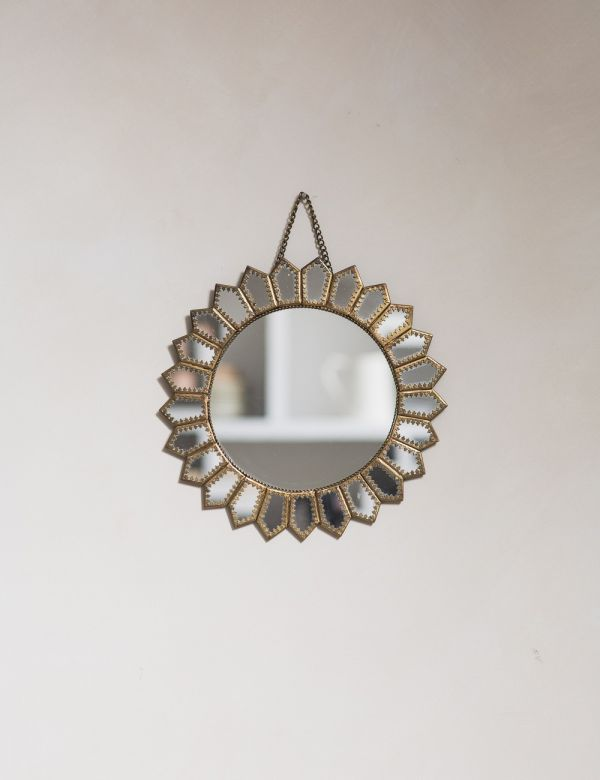Embellished Sun Mirror
