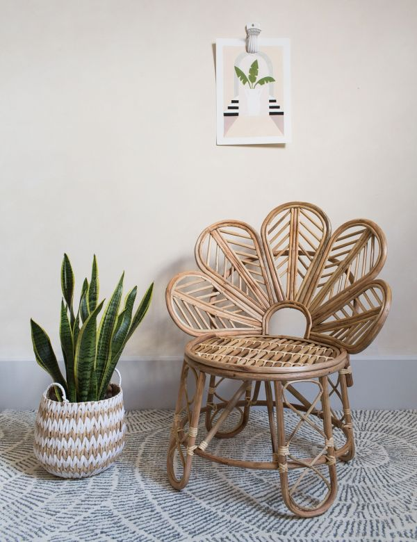 Emmy Natural Cane Occasional Chair