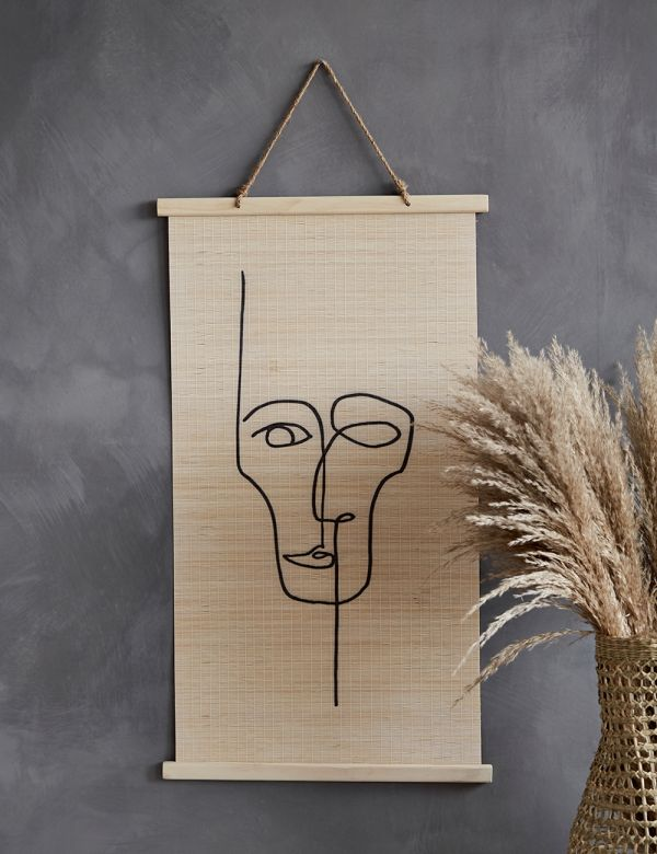 Face Wall Hanging