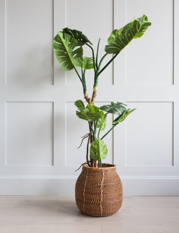 Faux Monstera Plant