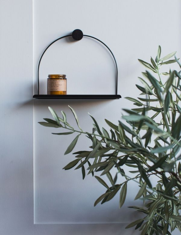Ferm Living Black Shelf