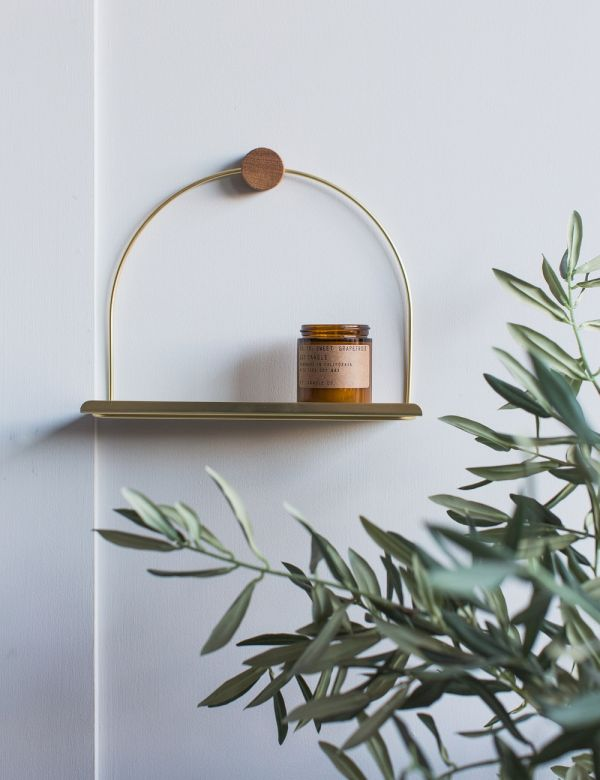 Ferm Living Black Bathroom Shelf