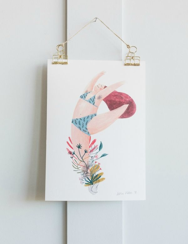 Fotini Tikkou Blooming Dancer A4 Print