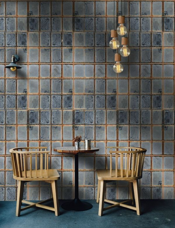Mind The Gap Wallpaper Collection - Foundry Wall - sample