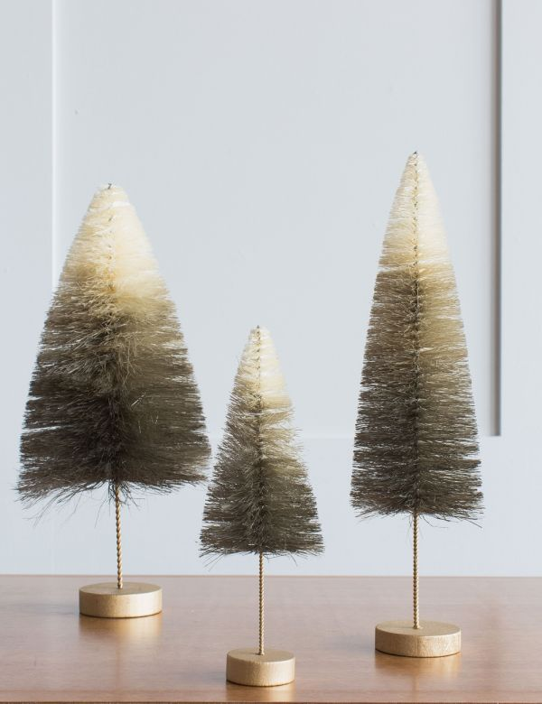 Grey Ombre Christmas Tree - Three Sizes Available