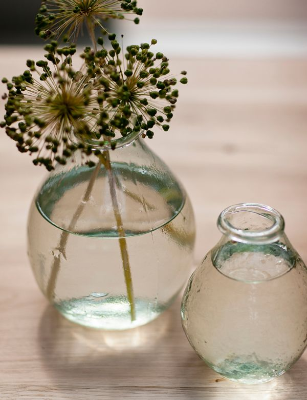 Recycled Glass Vase - Available as Small or Large
