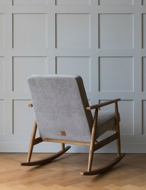 H. Lis Fox Rocking Chair