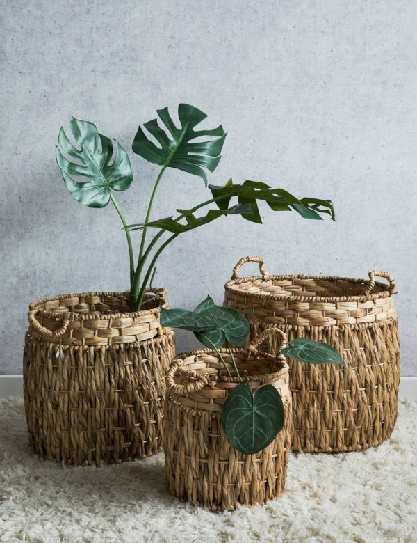 Handwoven Wicker Baskets