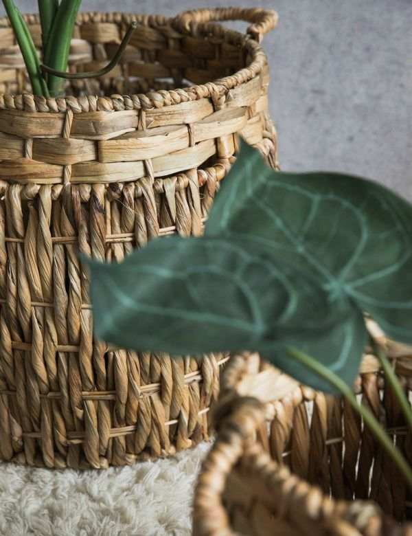 Handwoven Wicker Baskets - Three Sizes Available