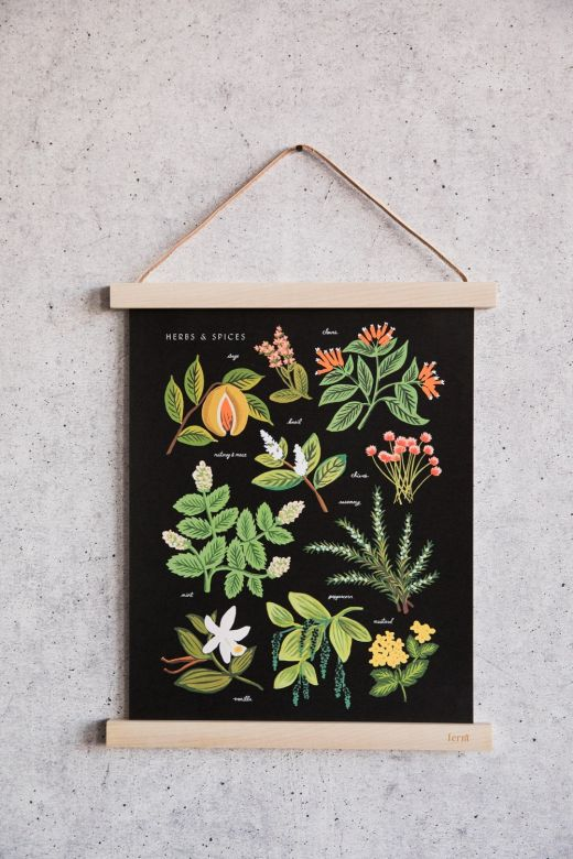 Ferm Living Small Maple Wooden Poster Frame
