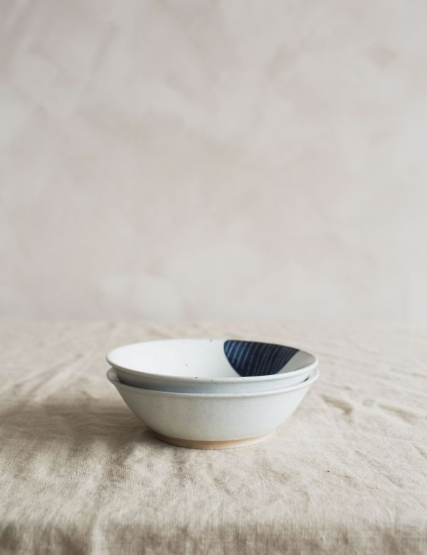 Indigo Ceramic Bowl