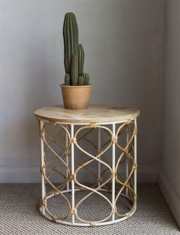Josephine Bamboo & Mango Side Table