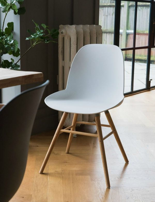 Albert Kuip Chair White