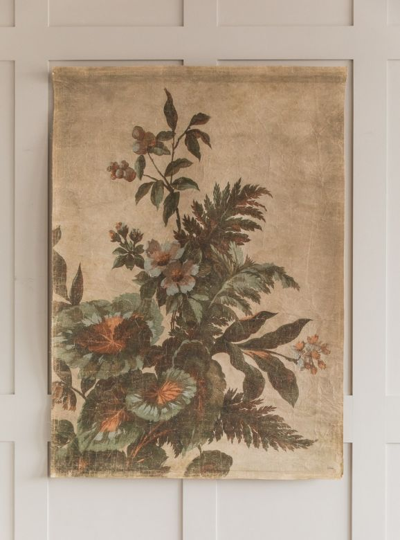 Kyoto Large Linen Wall Hanging
