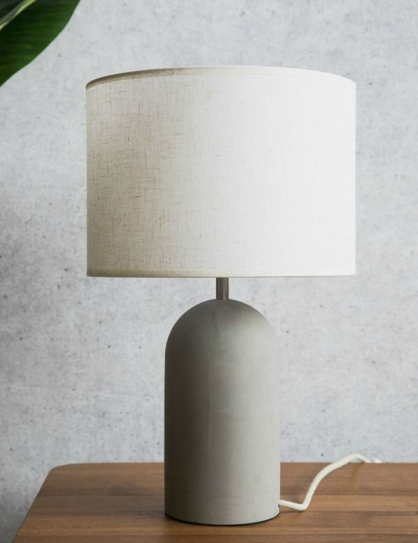Modern Industrial Desk Table Lamps Rose Grey
