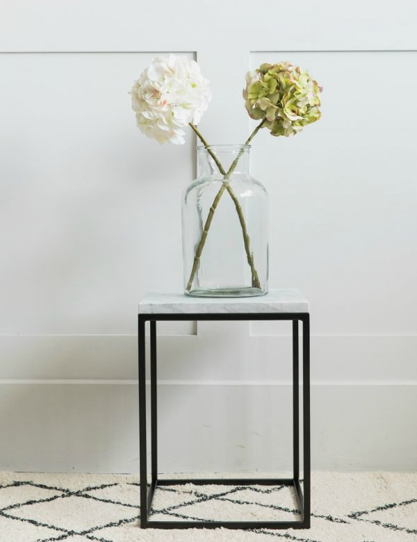 Lily Small Marble Side Table