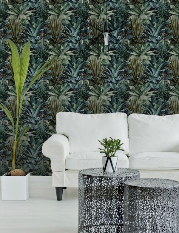 Mind The Gap Wallpaper Collection - Lush Succulents