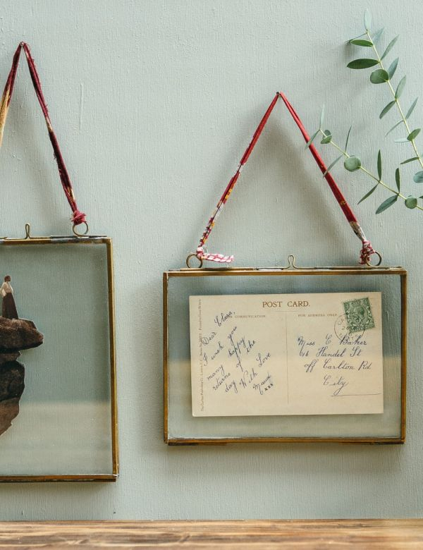 Medium Brass Frames - Landscape or Portrait