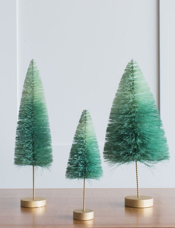 Mint Ombre Christmas Tree - Three Sizes Available