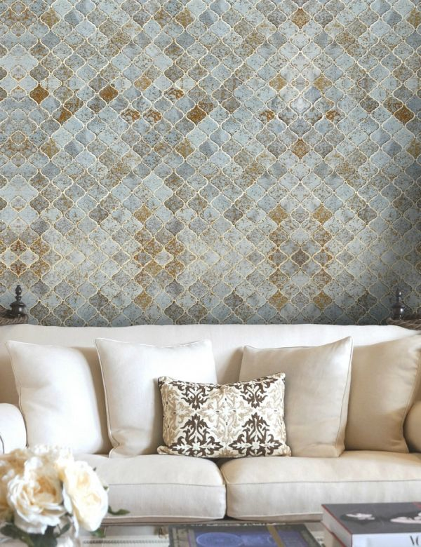 Mind The Gap Wallpaper Collection - Morocco Tiles - Sample