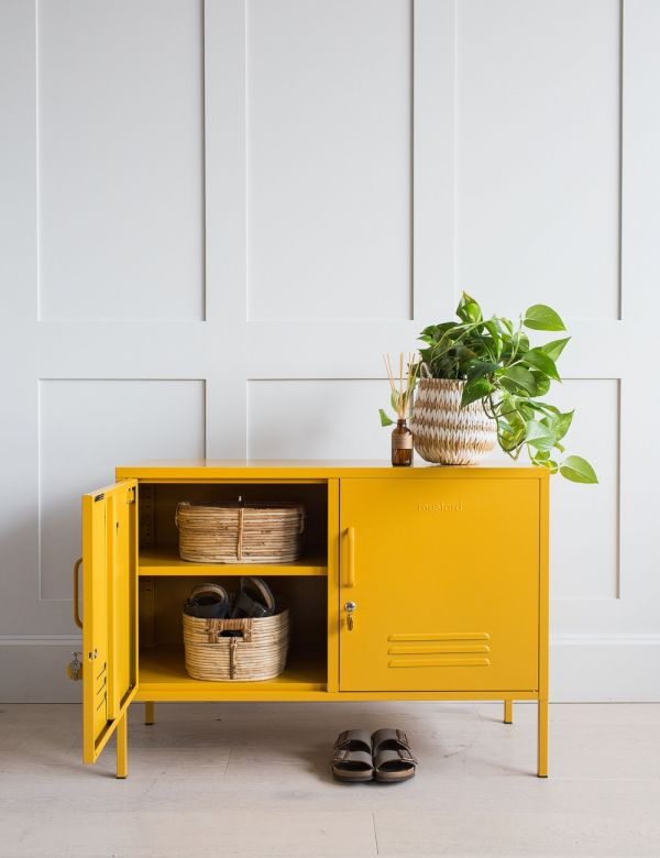 Mustard Made Lockers - The Lowdown Locker - Mustard Yellow