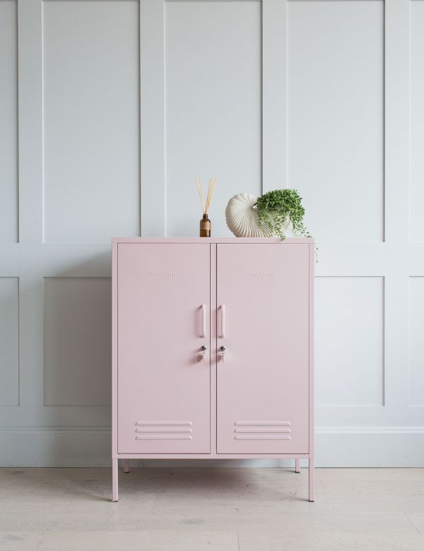 Mustard Made Lockers - The Midi Locker - Blush Pink