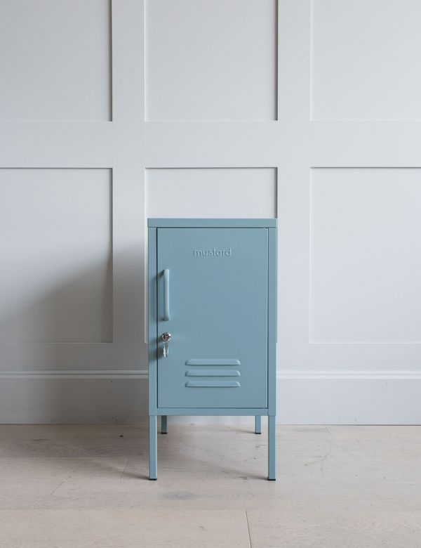Mustard Made Lockers - The Shorty Short Locker - Ocean Blue