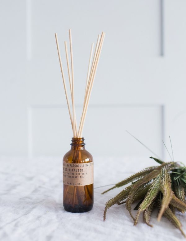 P.F Candle Co. No.19 Patchouli Sweetgrass Reed Diffuser