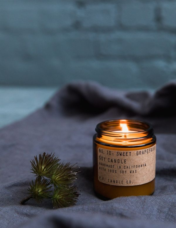 P.F Candle Co. No. 10 Sweet Grapefruit Small Soy Candle