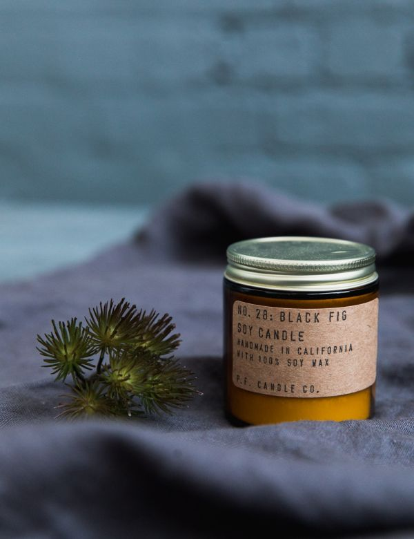 P.F Candle Co. No. 28 Black Fig Small Soy Candle
