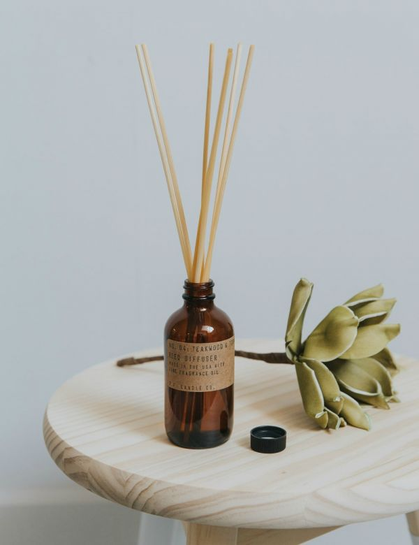 P.F Candle Co. No 4 Teakwood & Tobacco Reed Diffuser